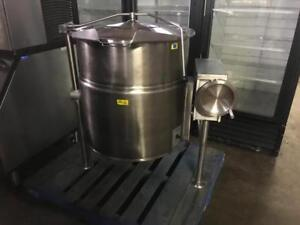 Cleveland kel-40-t tilting kettle ( like new! ) only $4995 ! Save $$$$ shipping avaiable