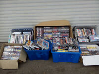 VHS videos, over 300