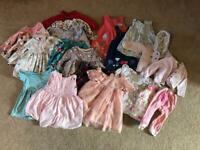 Beautiful 6-9 month Girls Clothing Bundle - Collection only