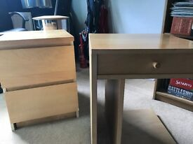 Ikea bedside units. Perfect condition