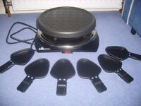 NEW TEFAL RACLETTE GRILL