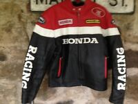 honda leather jacket in great condition