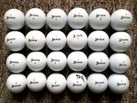 24 Srixon golf balls, soft feel, distance, ad333 all in excellent condition