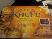 AtmosFear Khufu The Mummy DVD Board Game