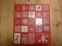 Fillable Advent Calendar Box