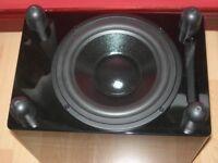 Gloss black Monitor Audio 360HD Subwoofer £120 ono