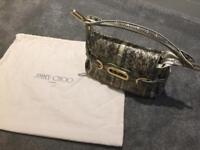 Jimmy choo handbag new snakeskin 100%genuine