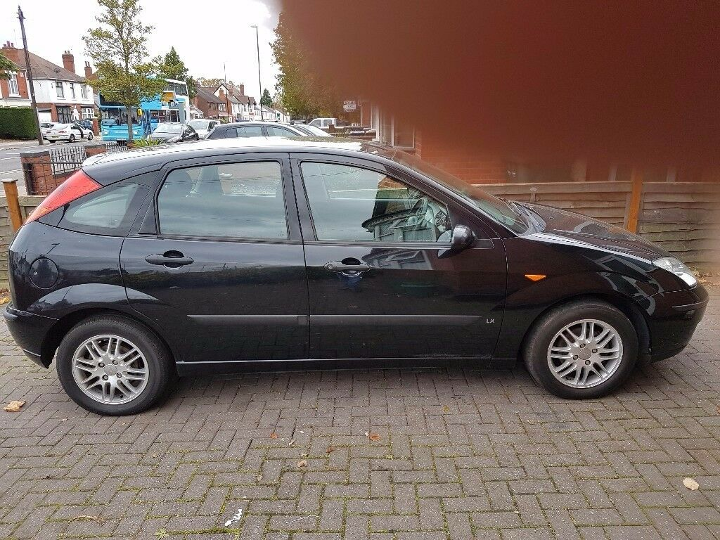 2004 54 ford focus lx tdci1 8lblackmanual