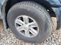 4 Vauxhall Frontera Wheels, Tyres 1 month old