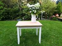 Beautifully restored shabby chic table