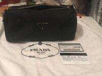 PRADA ladies evening bag/ make up bag never used