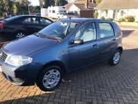 FLAT PUNTO 1.2 ACTIVE 2004. Only done 31151 miles. In very good condition. Cheap tax & Insurance.