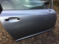 CHRYSLER CROSSFIRE DOOR DRIVER SIDE DOOR IN SAPPHIRE SILVER BLUE