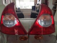 Rear lights for Renault clio mk 2