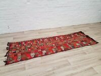 Indian Hand Knotted Runner/Rug (DELIVERY AVAILABLE)