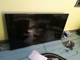 50 inch Hisense TV Broken Screen