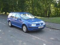 Volkswagen Golf 1.9 TDI estate New Mot 2 owner 207K miles