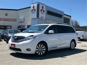 2014 Toyota Sienna XLE, 3.5L V6, 6 Speed AT, FWD, Leather, 7 Sea