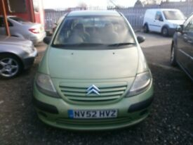CITREON C3 1.4 PX TO CLEAR £295