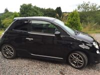 Fiat 500 1.3td special edition by diesel Abarth body kit