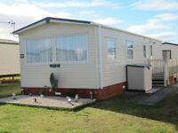 Luxury 4 bed caravan at Silver Sands Leisure Park Lossiemouth on the Moray Firth coast and beach