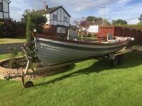 19ft Fishing boat