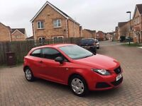 2010 SEAT IBIZA 1.2 SPORT A/C, FULL HPI CLEAR, SERVICE HISTORY, MOT AUG 2017