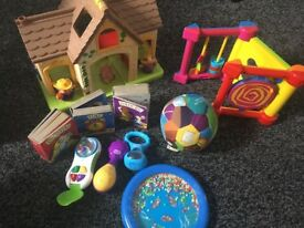 Bundle of toys 0-2years