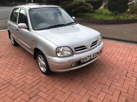 Nissan Micra automatic with too many extra options