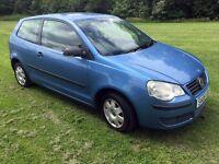 2006 Volkswagen Polo 1.2 E 55 3 Door Hatchback ***Long MOT***