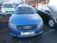 AUDI TT QUATTRO 1.8 COUPE 225 BHP