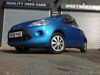 FORD KA 1.2 STUDIO 2010 59 PLATE MANUAL, 3DR, PETROL BLUE