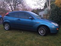 New MOT. Great looking two door Focus with nice alloys and privacy glass.