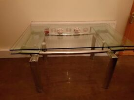 Glass Dining Table - Quick Urgent Sale