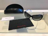 A black pair of ladies Ralph Lauren Sunglasses