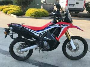 HONDA CRF250L CRF250 RALLY 09/2017MDL 12546KMS STAT PROJECT OFFERS