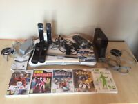 Nintendo Wii Fit kit and games and exercise programmes