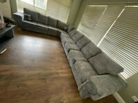 -- FASTEST DELIVERY ROUTE -- BRANDED NEW VERONA 9 SEATER CORNER SOFA OR 3+2 SOFA SET IN STOCK NOW --