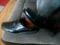 Mens black shoes.size 9