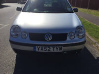 Volkswagen Polo 1.2 S 5dr£1,695 p/x welcome 2002 (52 reg), Hatchback