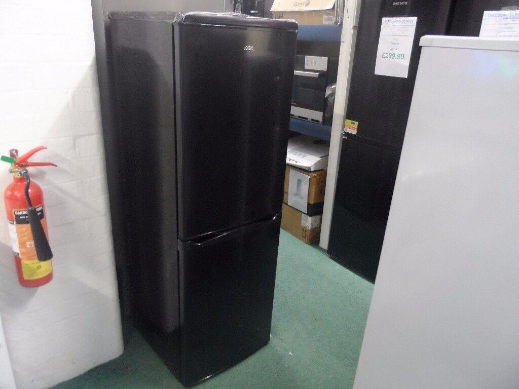 LOGIK LFC50B14 50/50 Fridge Freezer - Black