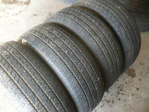 Four 215-60-16 tires $140.00
