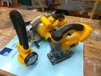Dewalt jigsaw, skilsaw and torch