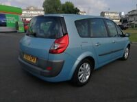 7 SEATER RENAULT GRAND 1.5 DIESEL MANUAL IN CLEAN CONDITION. MOT MARCH 2019. SERVICE HISTORY.
