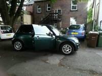 Mini Cooper One Green