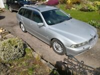 2001 BMW touring 530d. .with sport suspension