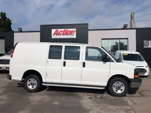 2017 GMC Savana 2500 chrome, cruise, safety partition