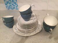 Royal Adderley Bone China Tea Service