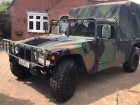 Left Hand Drive - H1 Hummer Military Humvee 1985 - Very Low Miles - Wonderful Machine