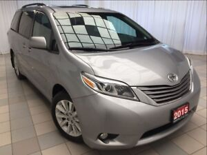 2015 Toyota Sienna XLE AWD *Roof and Leather*